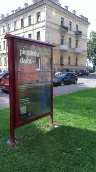 Campaign against human trafficking in Daugavpils.
