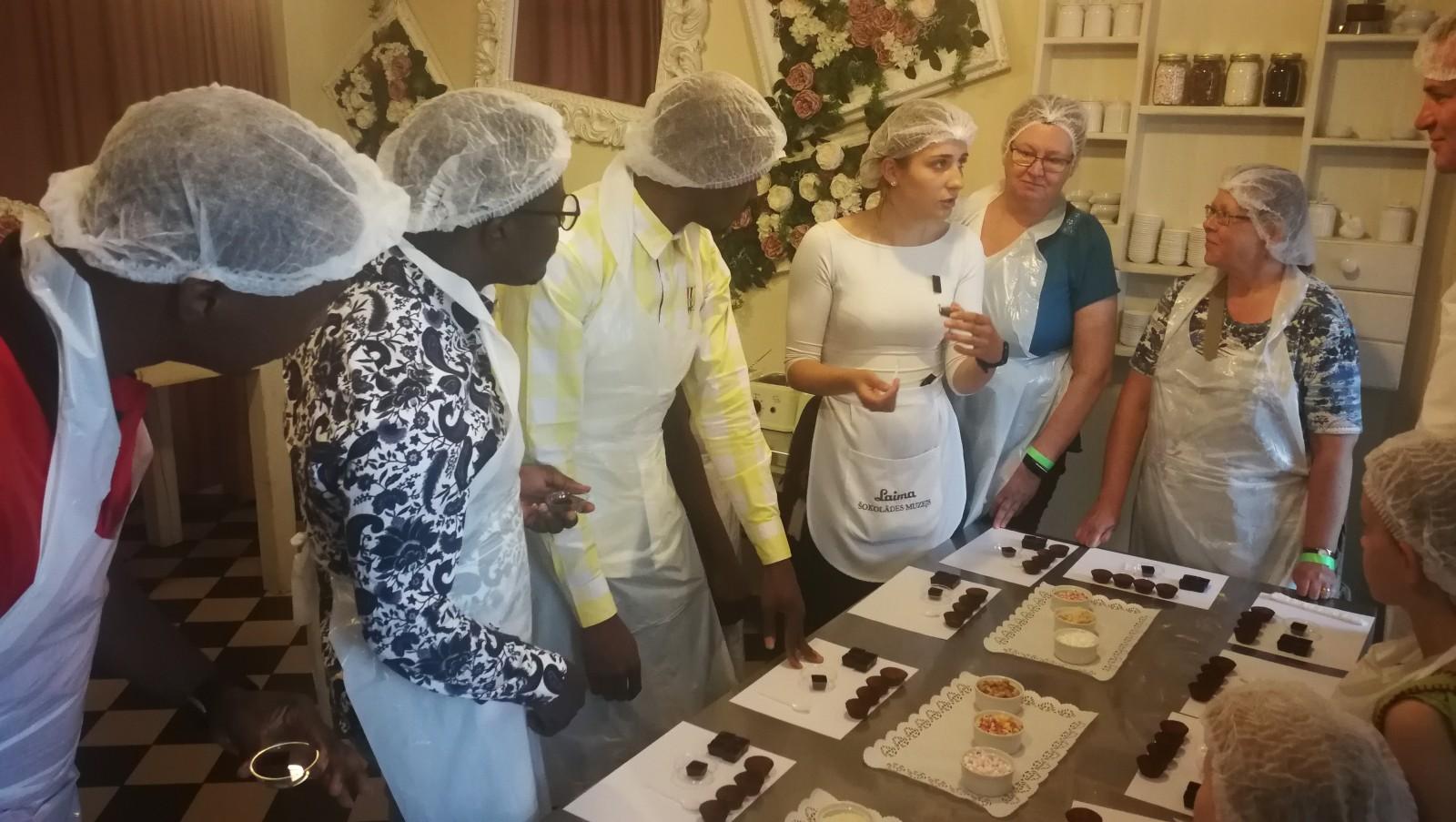 Екскурсия в музей шоколада Лайма | Patvērums Drošā Māja