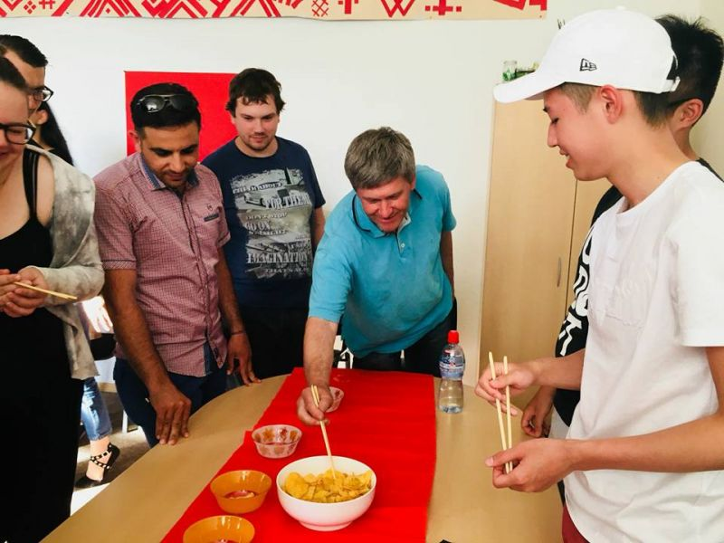 Другой вечер китайской культуры | Patvērums Drošā Māja