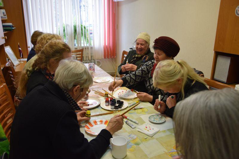 Creative workshop for seniors 19.04. | Patvērums Drošā Māja