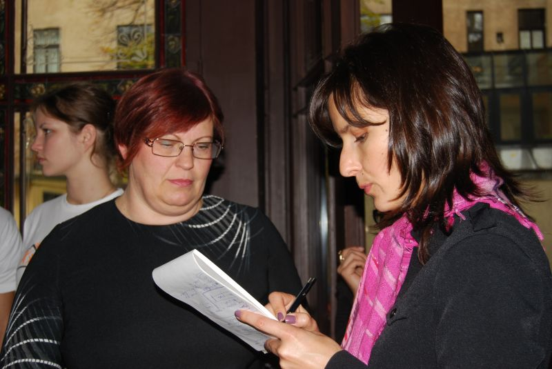 Сандра Залцмане и Рута Силиня