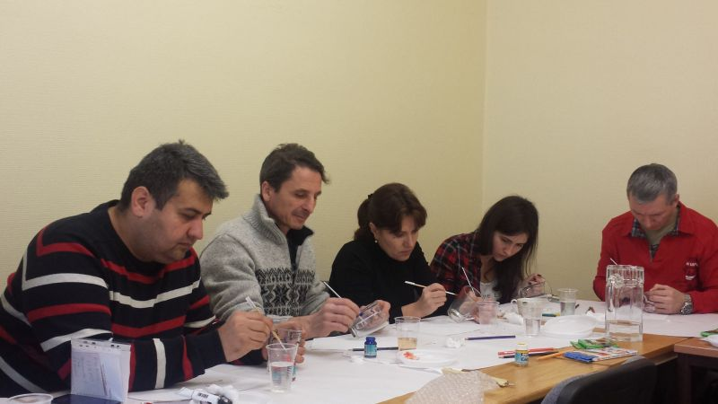 Sarunvalodas kluba nodarbība bēgļiem | Patvērums Drošā Māja