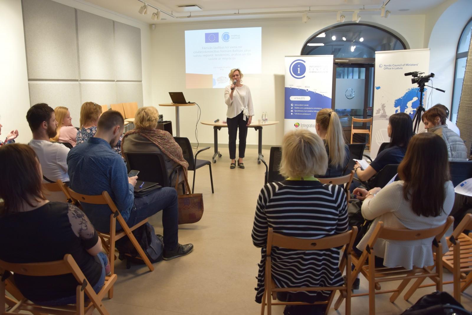 Семинар о браках и их связи с миграцией | Patvērums Drošā Māja