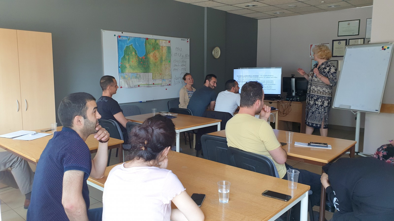 Учебный курс по интеграции 9-я учебная группа | Patvērums Drošā Māja
