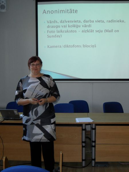 Biedrības vadītāja Sandra Zalcmane
