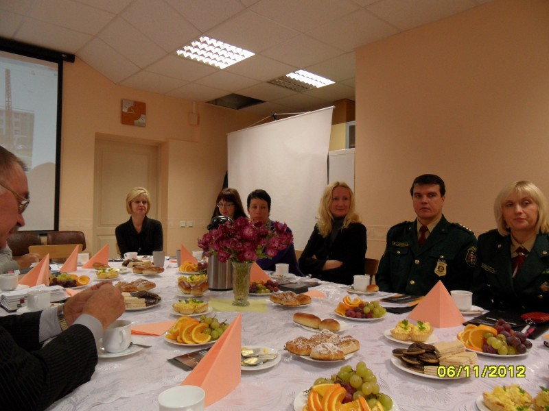 Discussion on human trafficking in Daugavpils municipality.
