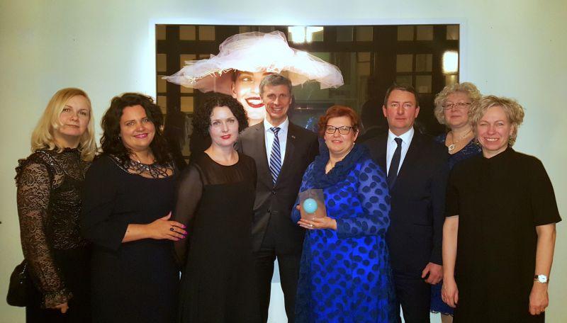 S.Zalcmane saņem Baltijas jūras reģiona balvu par cilvēktirdzniecības mazināšanu | Patvērums Drošā Māja