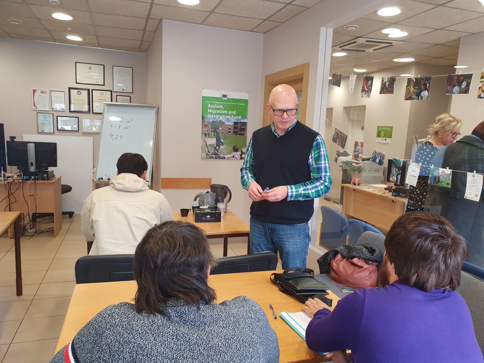 Integrācijas mācību kurss 14.grupa | Patvērums Drošā Māja