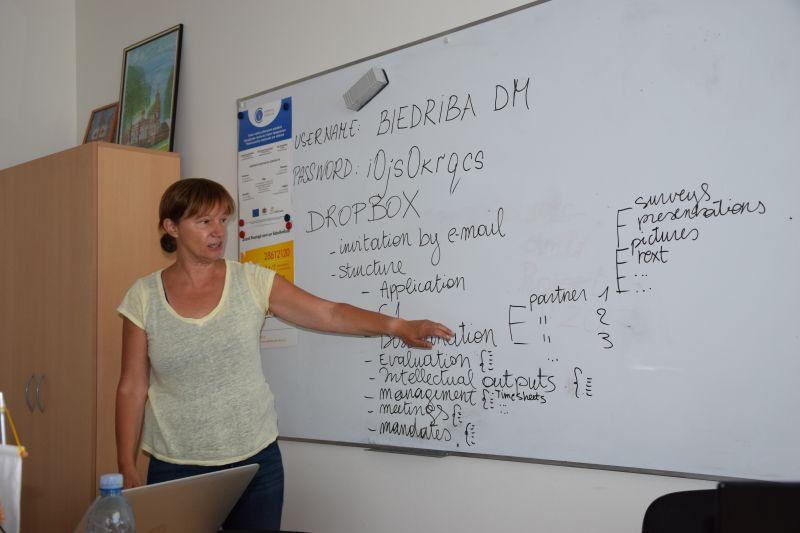 Projekta partneru tikšanās | Patvērums Drošā Māja