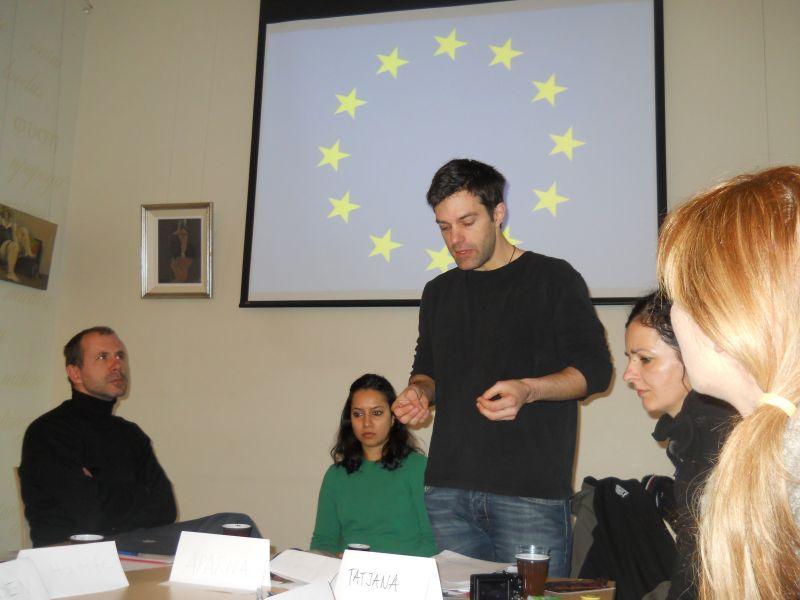 LIME partnerības valstu pārstāvji dalās pieredzē.