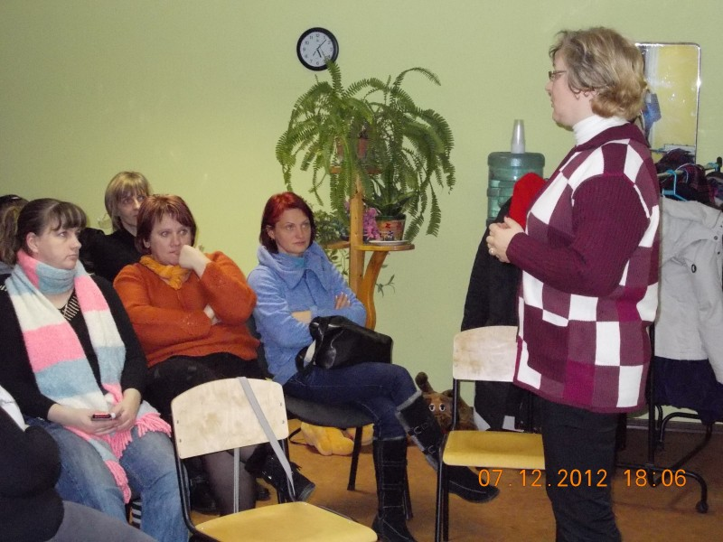 Discussion on human trafficking in Valmiera municipality.