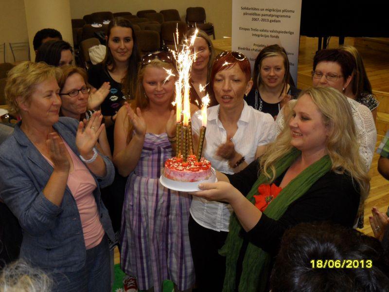 Sveicam Maiju Pohodņevu jubilejā! :)