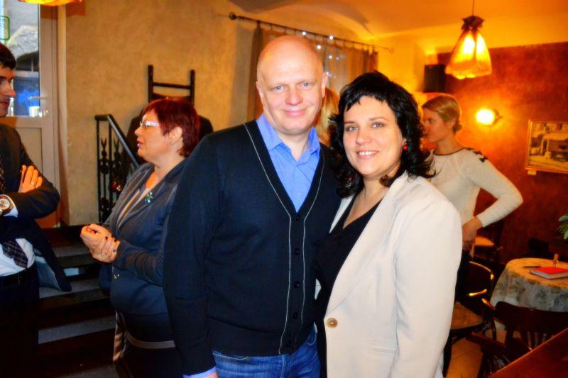 Alvis Šķenders un Rasa Saliņa