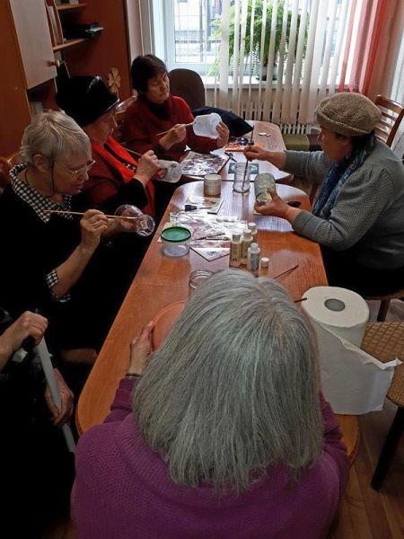 Creative workshop for senior citizens 17.03. | Patvērums Drošā Māja