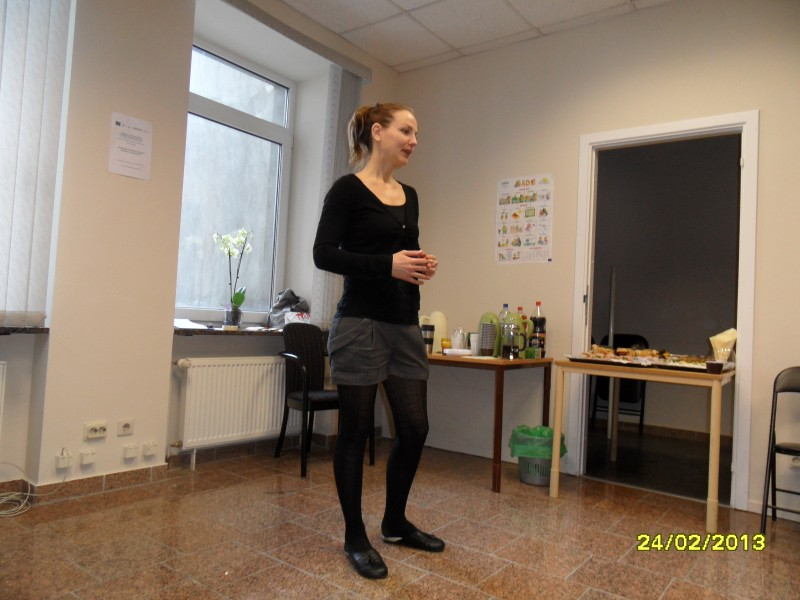 Volunteer training, 24.02.2013.