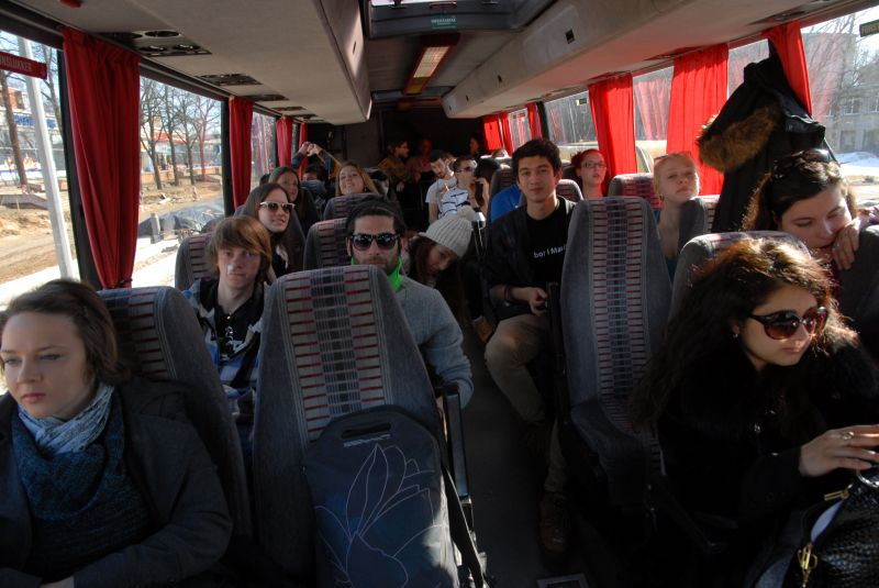 European youth explores Riga 10.04. | Patvērums Drošā Māja