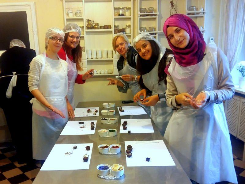 Šokolādes muzeja apmeklējums 16.-17.grupa | Patvērums Drošā Māja
