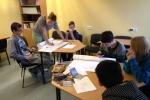 Vienaudžu izglītotāji viesojas Tīnūžu un Viļakas skolās | Patvērums Drošā Māja